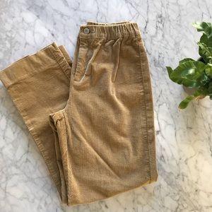 Tan corduroy brandy Melville pants